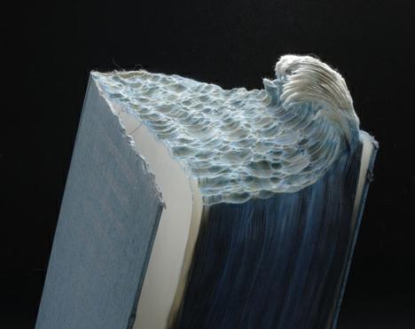 book art water wave