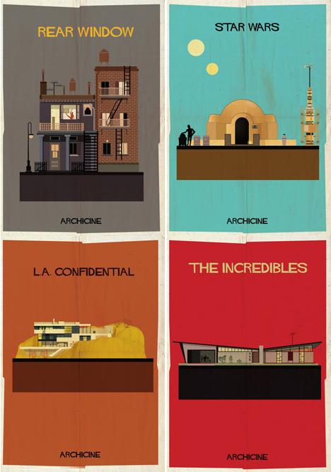 classic movie poster designs