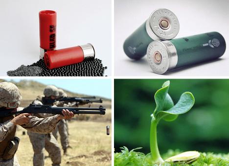 flower power shotgun shells