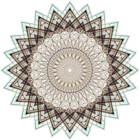fractal glass facade