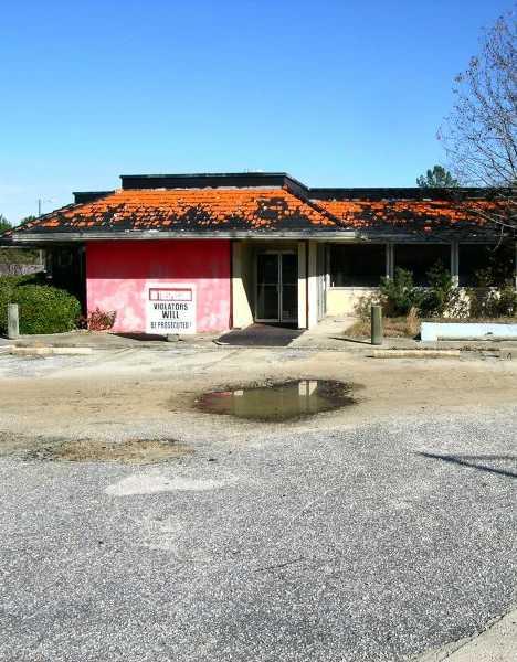 abandoned Howard Johnson's South Carolina I-95