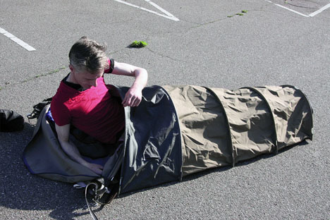 homeless portable micro shelter