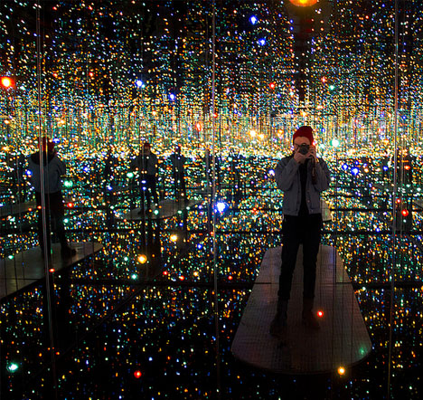 Infinity Rooms Mirrored Spaces Reflect Endless Starlight