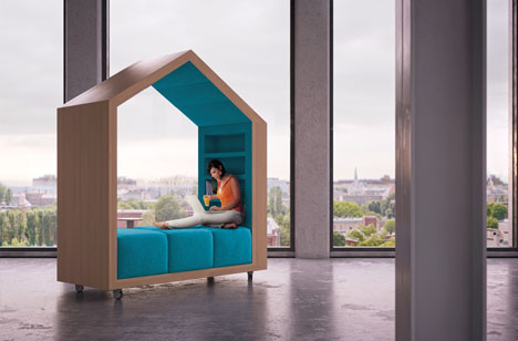 modular mobile reading room