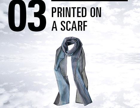 neighborhood printed scarf 3