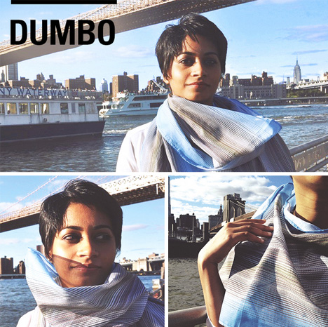 neighborhood scarf design dumbo