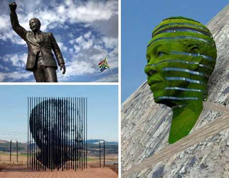nelson mandela monuments memorials