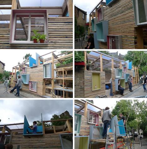 pop up construction steps