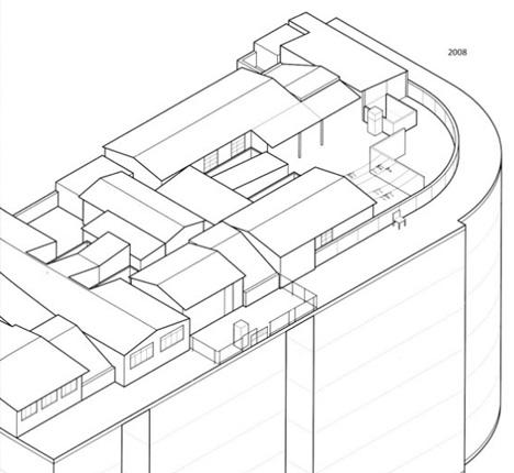 rooftop community village diagram