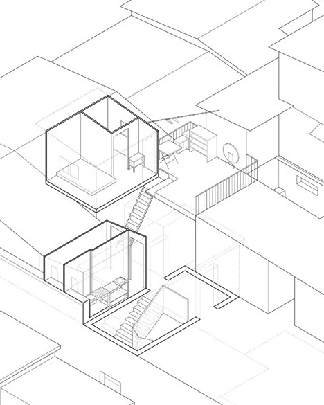 rooftop interior diagram drawing