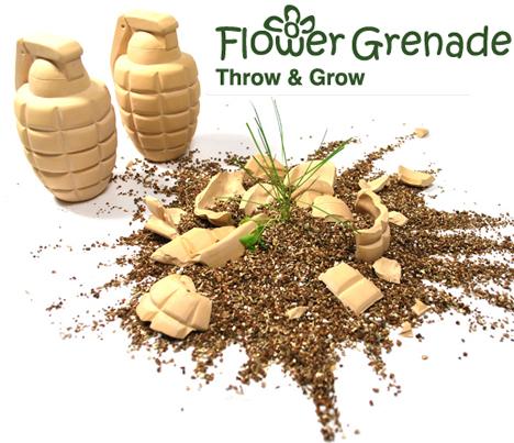 seed bomb flower grenade