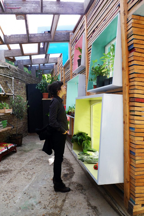 urban farm interior space