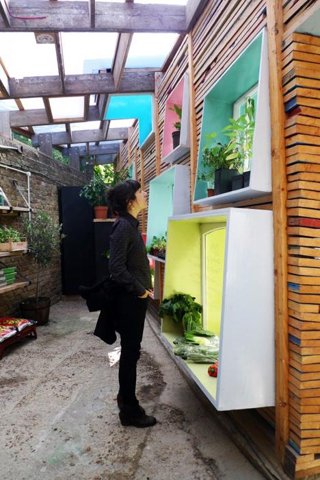 urban farm interior space