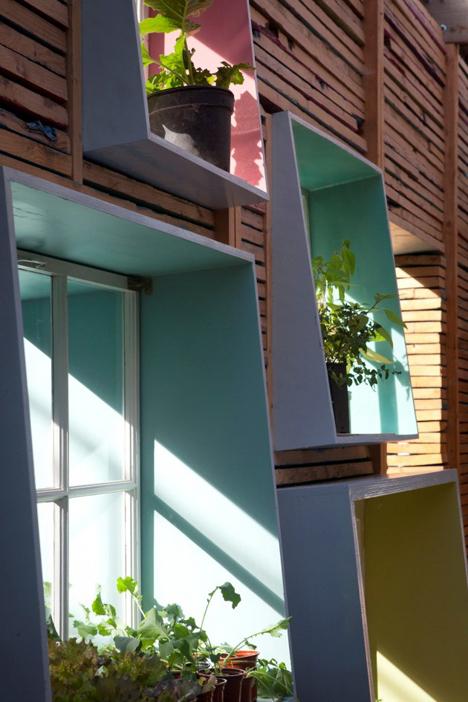 urban farm window detail