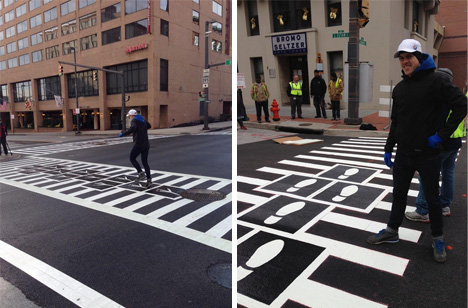 zebra baltimore pedestrian interactions