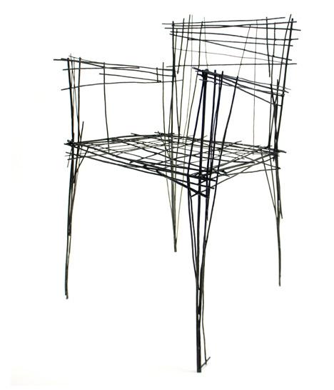 3d chair doodle art