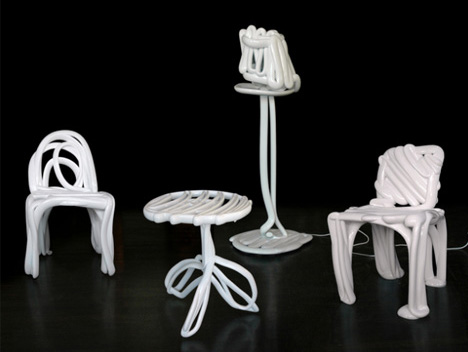 3d printed sketch furniture