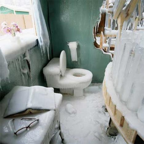 Abandoned BUildings Art Frozen Cottage 3