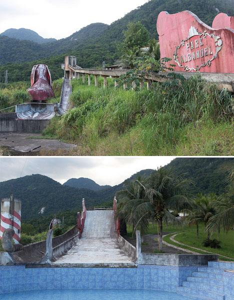 Abandoned Brazil park Albanoel 2