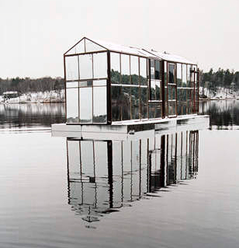 Abandoned Building Art Mirrored House