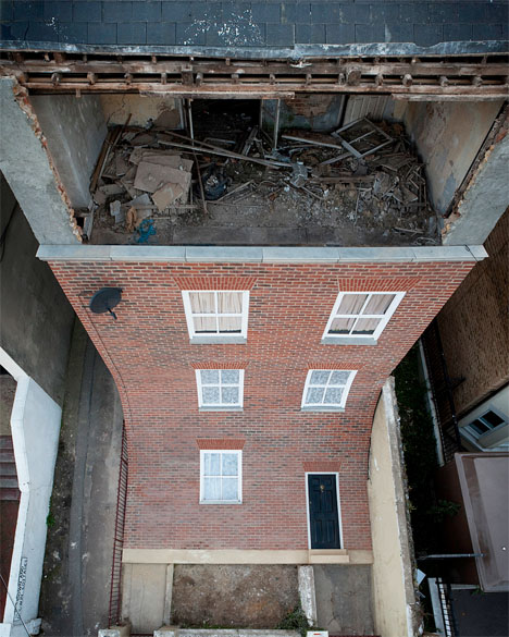 Abandoned Building Art Sliding Facade 2