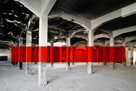 Abandoned Buildings Art Georges Rousse 2
