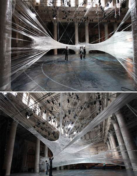 Abandoned Buildings Art Spiderweb Tape