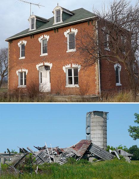 Abandoned Canada Rural Farmhouses 2
