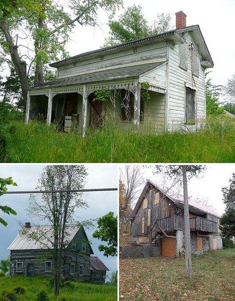 Abandoned Canada Rural Farmhouses 3