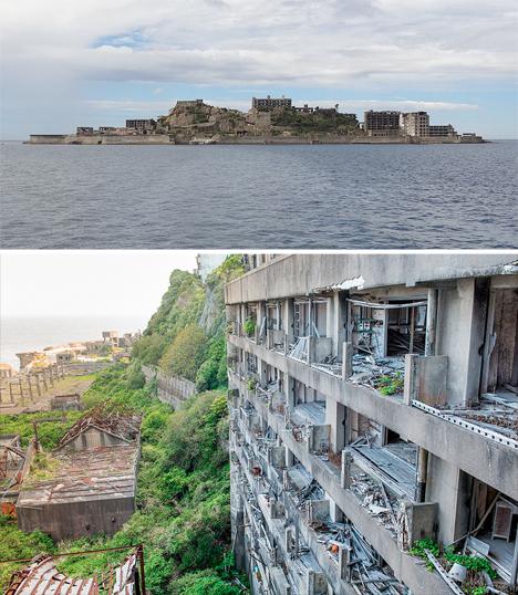 Abandoned Japan Hashima Gunkanjima