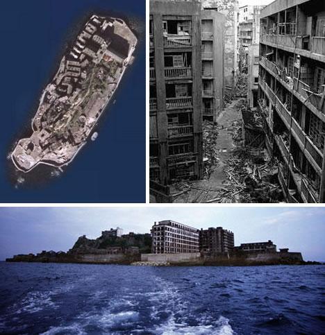 Abandoned Japan Hashima Island