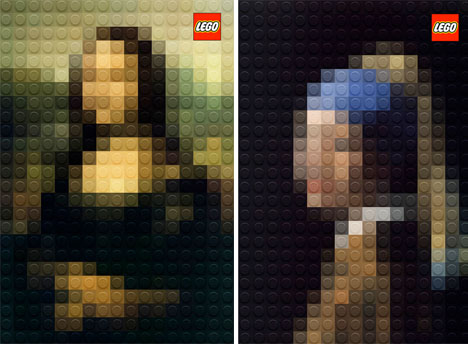 Classic Paintings Legos 1