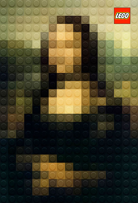 Classic Paintings Legos 2