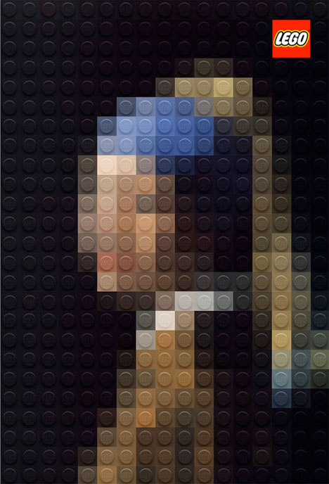 Classic Paintings Legos 3