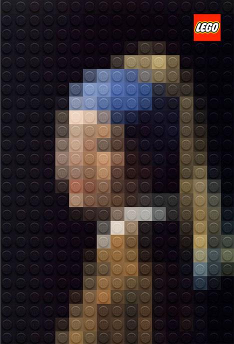 Classic Paintings Legos 3