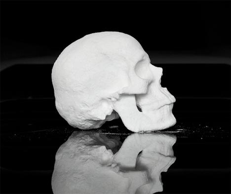 Cocaine skull sculpture 2
