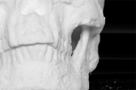 Cocaine skull sculpture 4
