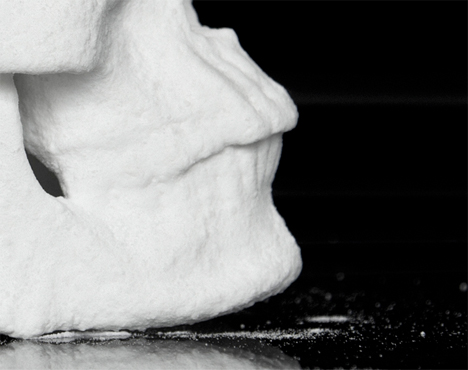 Cocaine skull sculpture 5