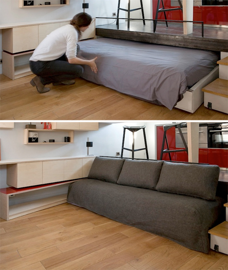 Disappearing Bed Tiny Apartments 3
