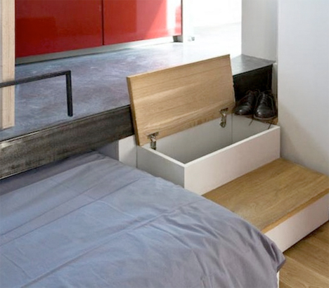 Disappearing Beds Tiny Apartments 5