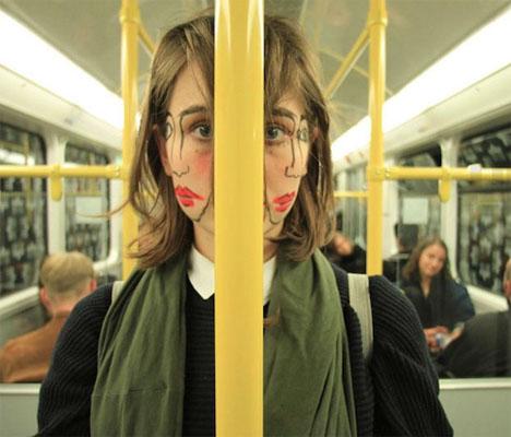 Doublefaced Girl 1
