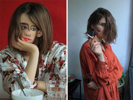 Doublefaced Girl 3