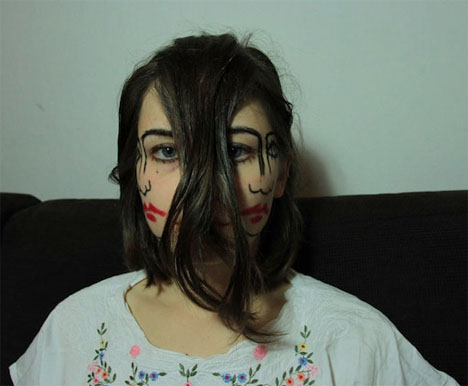 Doublefaced Girl 4