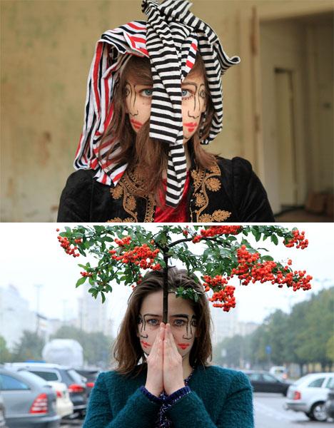 Doublefaced Girl 6