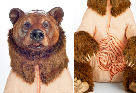 Embroidered Art Bears 3