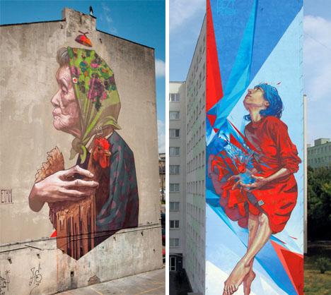 Etam Cru Street Murals 2