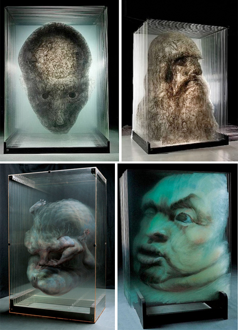 Hologram Art Panes of Glass