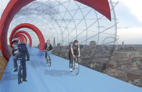 SkyCycle London Bike Route 3