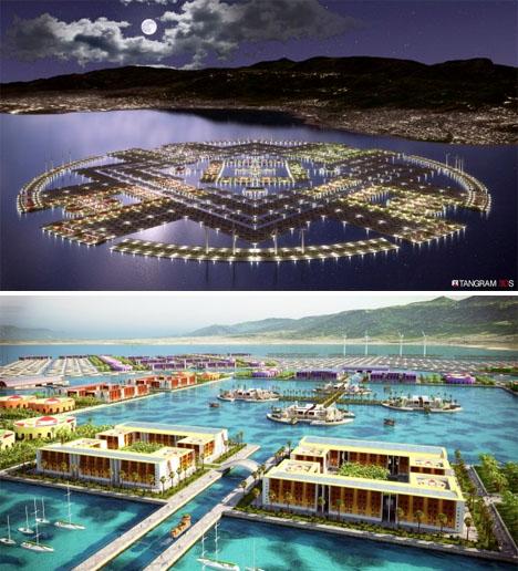 Urban Future Floating City Haiti