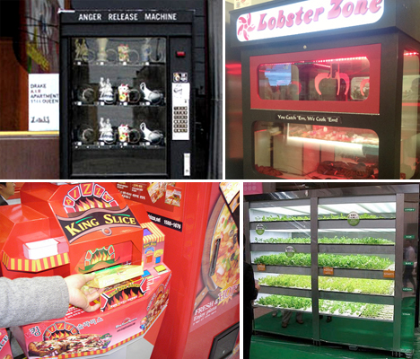 Weird Unusual Vending Machines